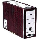 Fellowes Bankers Box 00053 - Caja de archivo automático, lomo 127 mm, marrón, (10 unidades)