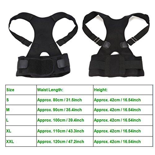 Zoom IMG-1 semme cintura correttore postura posteriore