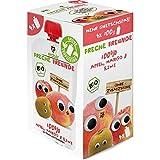 Freche Freunde Bio Quetschie Vorteilspack '100% Apfel, Mango & Kiwi' 4er Pack, (4 x 400 g)