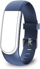 endubro Cinturino per tutti fitness tracker ID101 HR / ID101 & molti altri modelli realizzato in TPU Skin-friendly con chiusura antiallergica