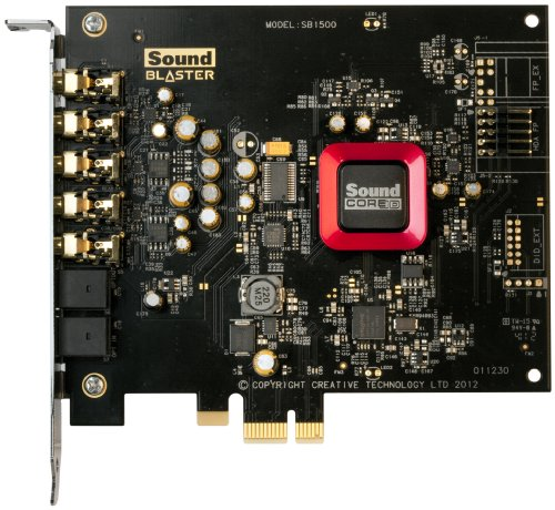 Creative Sound Blaster Z Interne Soundkarte (PCI-Express (PCI-Express, 116dB, 3,5mm Jack) bulk