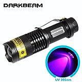 darkbeam 395SK68UV-tragbar Schwarzlicht Taschenlampen UV-395nm LED Blacklight Detektor für Hunde-Urin, PET Flecken und Bettwanzen 5.00 wattsW