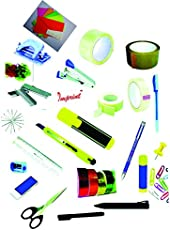 Generic Stationery Essentials For You Value Set (25Pieces Staionery Kit)