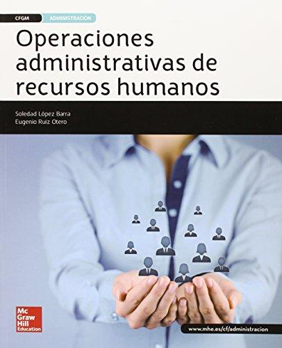 Operaciones Administrativas De Recursos Humanos - Edición 2015