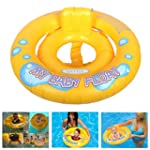 Baby Float Swimming Ring with Back Re...