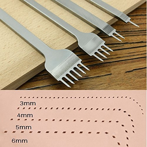 aiskaer-rwhite-steel-4mm-1-2-4-6-prong-diy-diamond-lacing-stitching-chisel-set-leather-craft-kits-4m