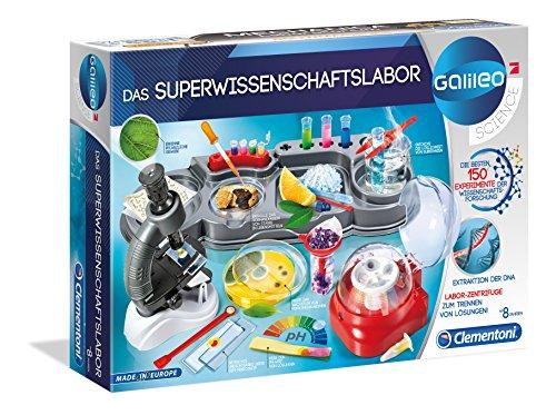 Clementoni 59083 Das Superwissenschaftslabor, Mehrfarben