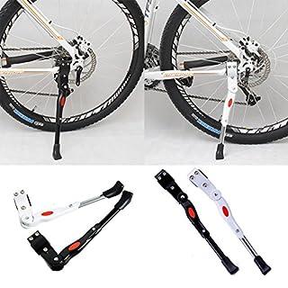 AllRight Fahrradständer Seitenständer Fahrrad Ständer Einstellbarer Fahrradständer Hinterbauständer für Mountainbike, Rennrad, Faltrad 24''-28''