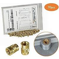 Ruthex® - Rosca de latón para piezas de plástico (por calor o ultrasonido)