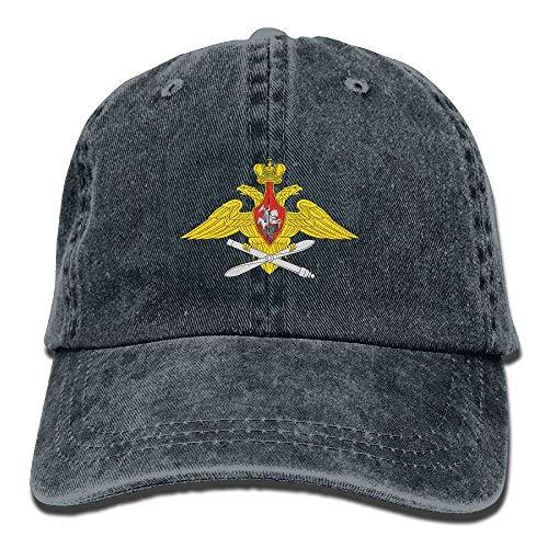 fd29cd80de6 EJjheadband Men   Women Washed Retro Adjustable Cowboy Hat Trucker Cap -  Russian Air Force