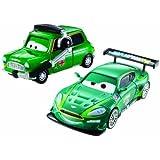 Disney Pixar Cars 2-pack Nigel Gearsley & Austin Littleton by Mattel