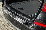 tuning-art 3406 Edelstahl Ladekantenschutz mit Abkantung fahrzeugspezifische Passform