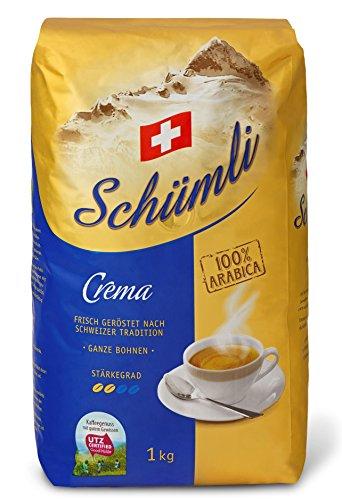 Kaffee Schümli Crema Bohnen