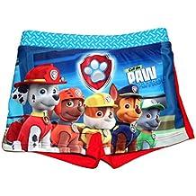 Bañador Boxer de baño Paw Patro-Patrulla Canina para niños color Rojo 6 años