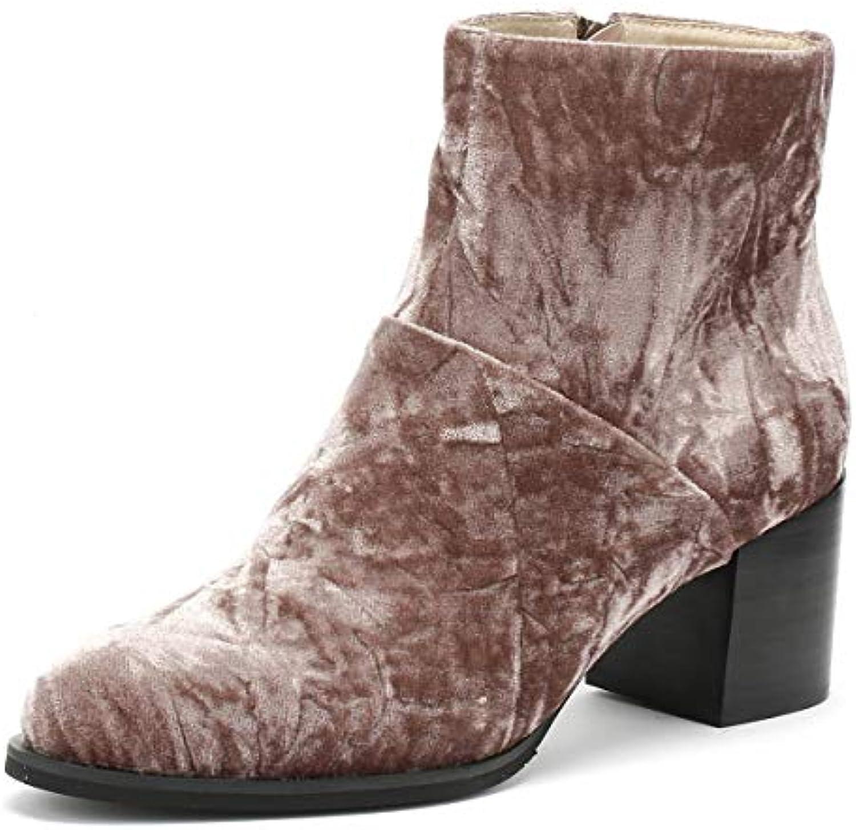 scarpe The Bear Ceci Donna Deep Blush Marronee Velvet Stivali Stivali Stivali   Conosciuto per la sua buona qualità    Uomini/Donne Scarpa  90b8a8