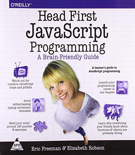 Head First JavaScript Programming,