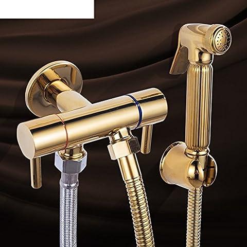 Bronze,Spray De Toilette Turbo/ Buse Bidet/Ensemble De Douche/ Pointe De