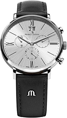 Maurice Lacroix Eliros EL1088-SS001-110 Cronografo uomo Data in grande