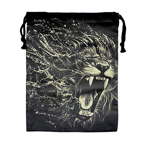 Beam Mouth Gym Bags for Men & Women (Rasta Tiger) ()