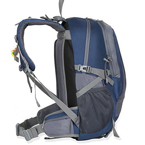 X2X 40 Liter Wasserdichter Outdoor Rucksack für Bergsteigen, Camping, Wandern