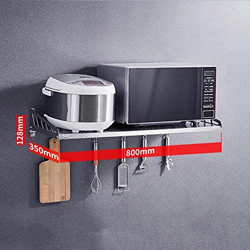 Jannyshop 50-80cm Estante de Almacenamiento Ajustable Separador Armario Estante en Capas Retr/áctil Estante de Cocina Cafe