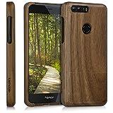 kwmobile Huawei Honor 8 / Honor 8 Premium Hülle - Handy Schutzhülle aus Holz - Cover Case Handyhülle für Huawei Honor 8 / Honor 8 Premium