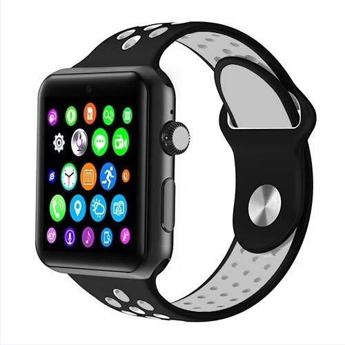 SmartWatch DM09Watch Phone Bluetooth Compatible Android and iOS Black