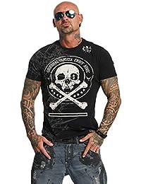 Yakuza Hombres Ropa Superior/Camiseta Face