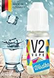 V2 Vape E-Liquid Vodka/Wodka ohne Nikotin - Luxury Liquid für E-Zigarette und E-Shisha Made in Germany aus natürlichen Zutaten 10ml 0mg nikotinfrei