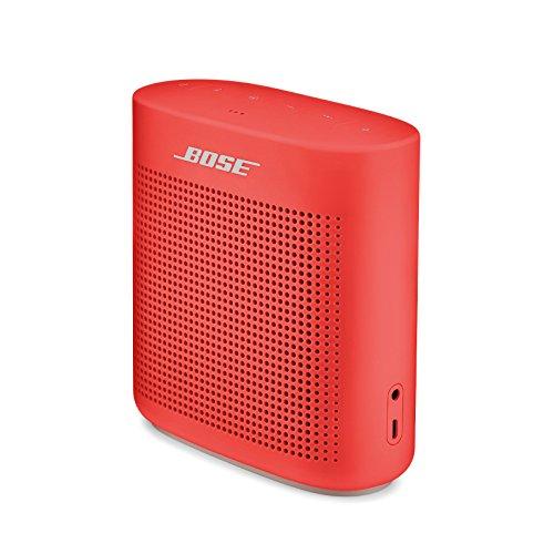 Bose SoundLink Color II - Altavoz Bluetooth, Rojo