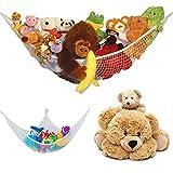 Großes Spielzeug Hängematte weichem Teddy Mesh Baby Kinder Schlafzimmer ordentliche Aufbewahrung Kinderzimmer Net, Ecke Spielzeug Hängematte
