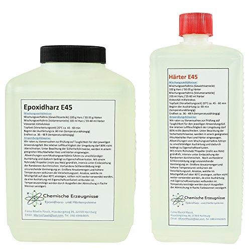 GFK Kristallglasklares Resin / Epoxidharz