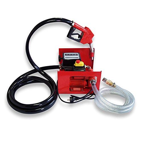 Preisvergleich Produktbild Bio Dieselpumpe Heizölpumpe selbstansaugend 230V/550W 50l/min automatische Pistole Umfüllpumpe