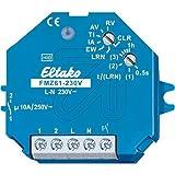 Eltako Funkaktor Multifunktions-Zeitrelais 230V, Potenzialfrei 10A/250V AC, Glühlampen 2000W, 1 Stück, FMZ61-230V