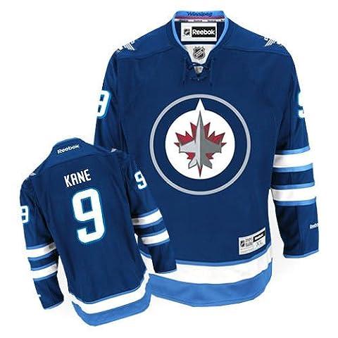 NHL Eishockey Trikot/Jersey WINNIPEG JETS Evander Kane #9 navy in MEDIUM (M)