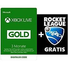 Xbox Live 3 Monate Gold + Rocket League  Gratis [Xbox Live Download Code]