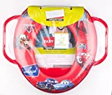 #7: CHINMAY Kids Colorfull, Padded, Soft, and Durable,Full Cushion Assorted Potty Trainer Seat Potty Seat (Red)