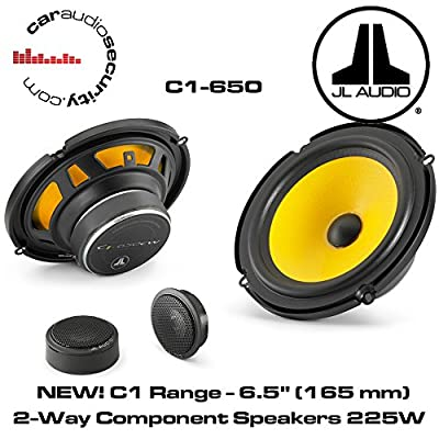 "JL Audio C1-650 - C1 6.5"" (165 mm) 2-Way Component Speakers 225W"
