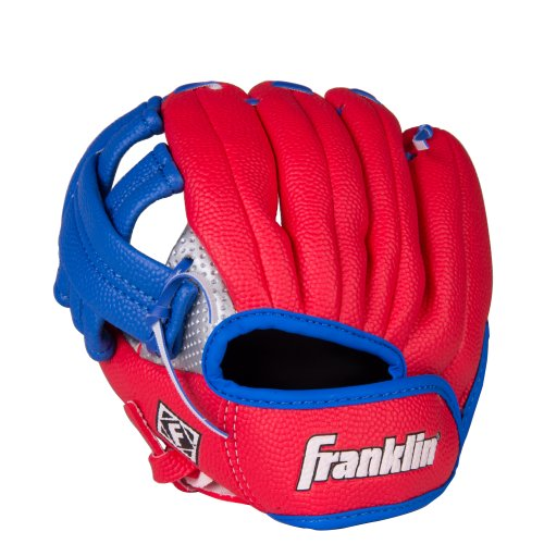 Franklin Sports Air Tech Linkshänder Jugend Baseball Handschuh, 9 Zoll (Easton-jugend-baseball-handschuh)