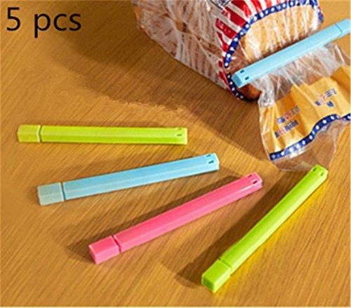 interestingr-5pcs-sealing-clips-food-snack-storage-bag-sealer-clamp-kitchen-essential-tools