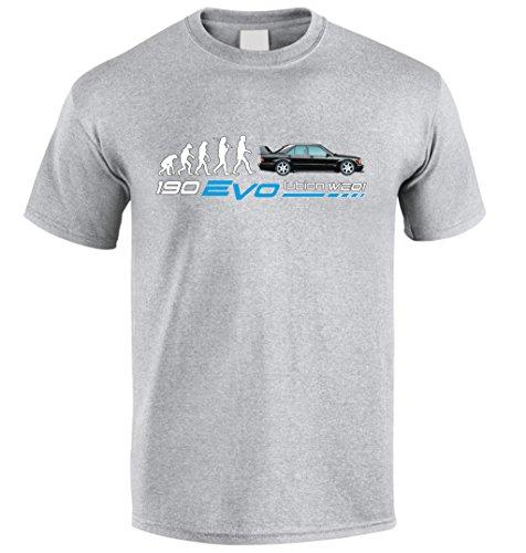 c2dea18f27fb04 Tradebox T-Shirt Inspiriert von W201 Evo II DTM Fuer Mercedes 190 Fan t  Shirt T-Shirt Weihnachtsgeschenk (S