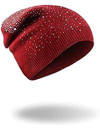 beanie Master-Halloween Navidad Sombreros Invierno cálido Tejidas Gorras MS  Pac d7443a62853