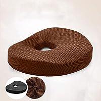 Preisvergleich für YSY Memory Foam Kissen Donut Pad Lindert Lendenwirbel Ischias