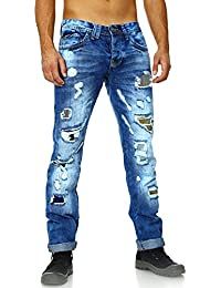 Amica Jeans - Jeans déchiré homme Jeans AM9617 bleu - Bleu