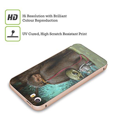 Ufficiale Jason Limon Tra Gli Alberi Alieni Oro Cover Contorno con Bumper in Alluminio per Apple iPhone 5 / 5s / SE Pausa Pipì