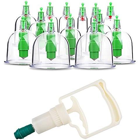 12 pz Easy Prendendo Famiglia Cupping Therapy / Metodo Indolore