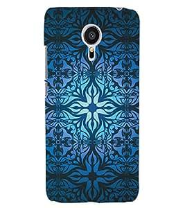 ColourCraft Beautiful Pattern Design Back Case Cover for MEIZU MX5