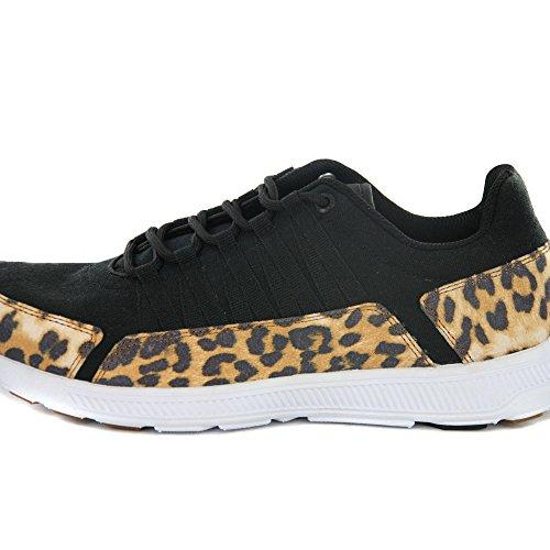 Supra Owen Low Top Retro Sneaker in 2 Farben Black