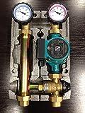 Pumpengruppe für Fußbodenheizung 1