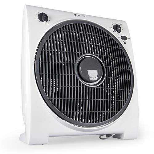 Tecvance TV-6633 Box-Ventilator, Weiss